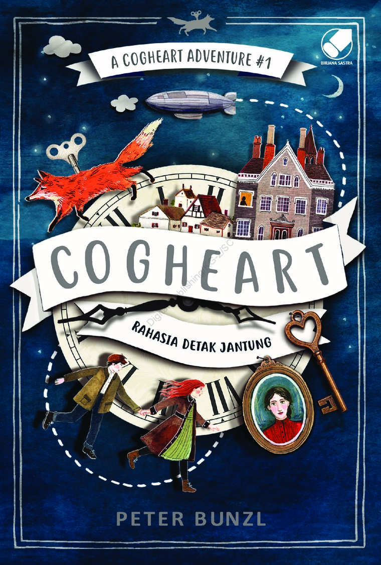 A Cogheart Adventure #1 : Cogheart by Peter Bunzl Digital Book
