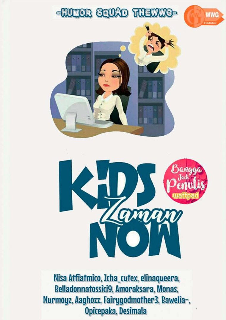 Kids Zaman Now by Humor Squad TheWWG Digital Book