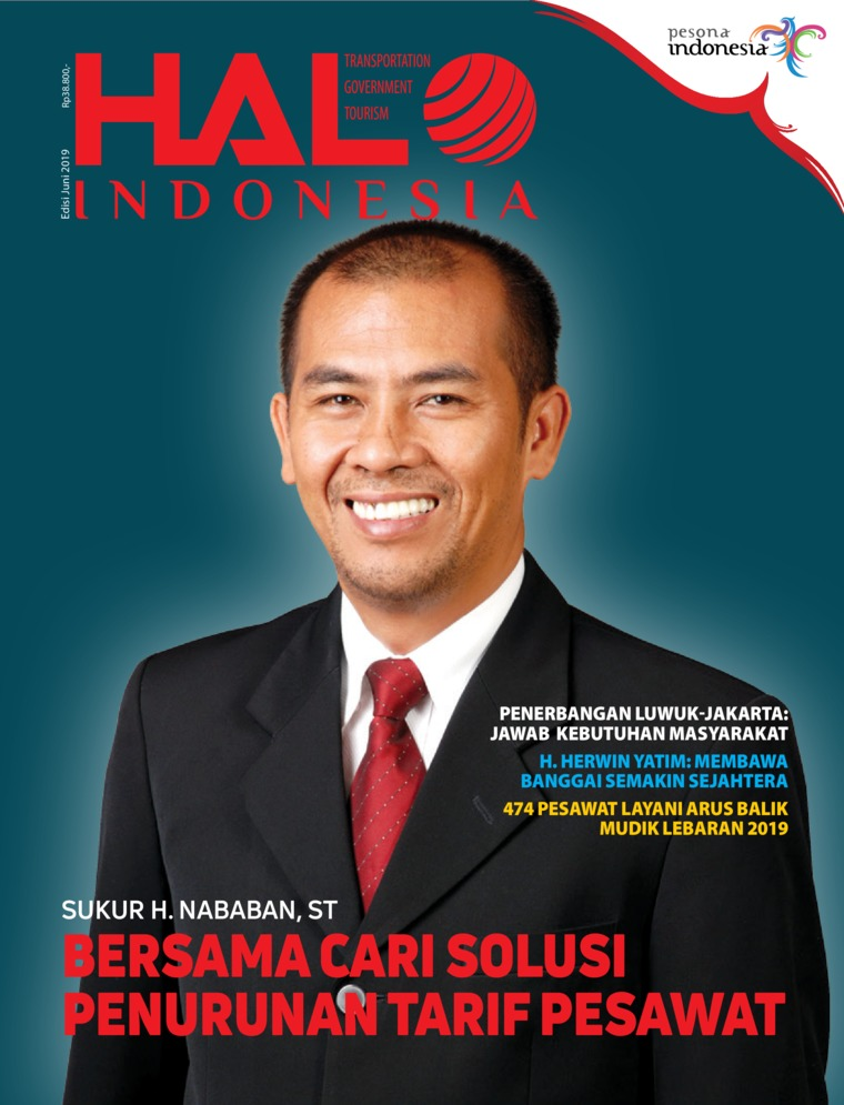 Majalah Digital HALO INDONESIA Juni 2019