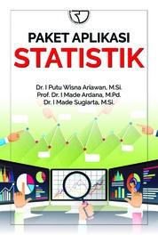 Paket Aplikasi Statistik by Dr. I Putu Wisna Ariawan, M.Si. Cover