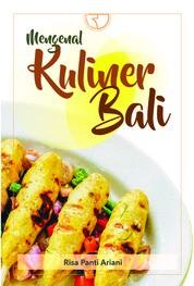 Cover Mengenal KULINER BALI oleh Risa Panti Ariani