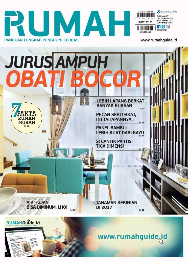 Jual majalah tabloid rumah ed 360 2017