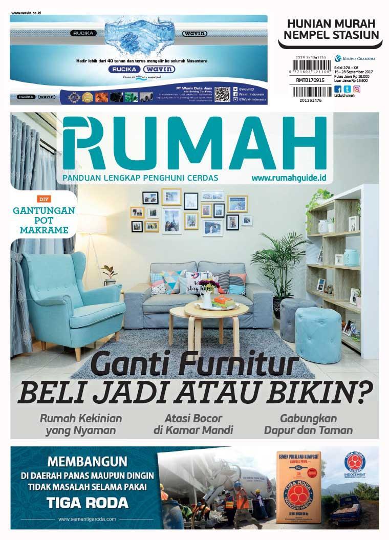Majalah Digital tabloid RUMAH ED 378 2017