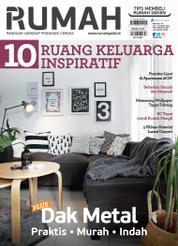 Cover Majalah tabloid RUMAH ED 384 2017