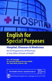 English for Special Purposes by Drs. J.B. Suwardjo, dkk Cover