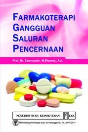 Cover Farmakoterapi Gangguan Saluran Pencernaan oleh Prof. Dr. Syamsudin, M. Biomed., Apt.