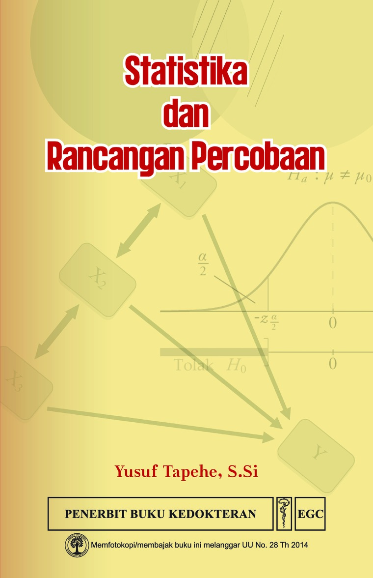 Statistika & Rancangan Percobaan by Yusuf Tapehe, S.Si Digital Book
