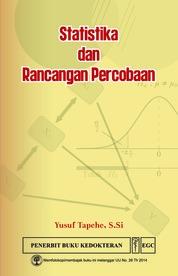 Statistika & Rancangan Percobaan by Yusuf Tapehe, S.Si Cover
