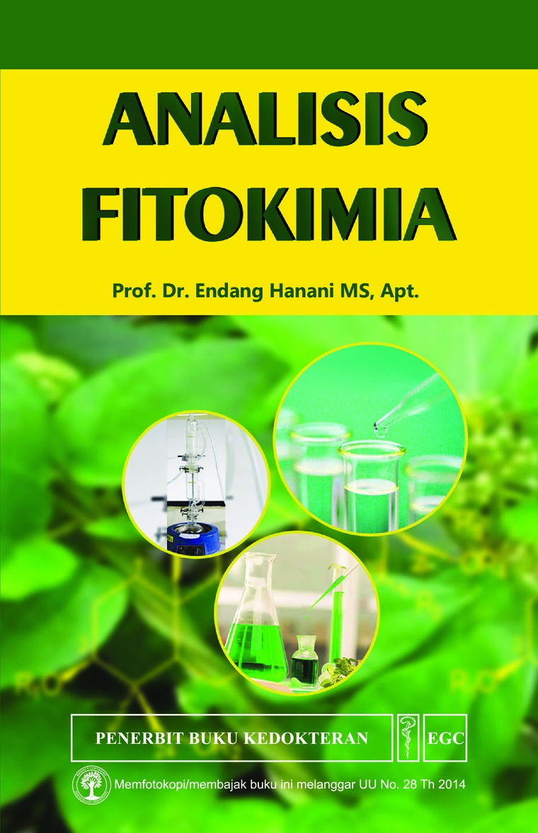Analisis Fitokimia by Prof. Dr. Endang Hanani, MS., Apt Digital Book