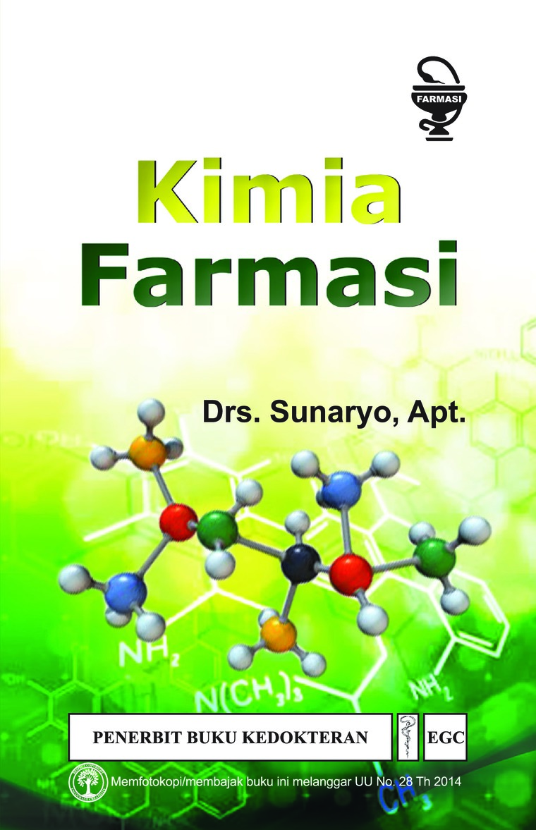 Buku Digital Kimia Farmasi oleh Drs.Sunaryo, Apt