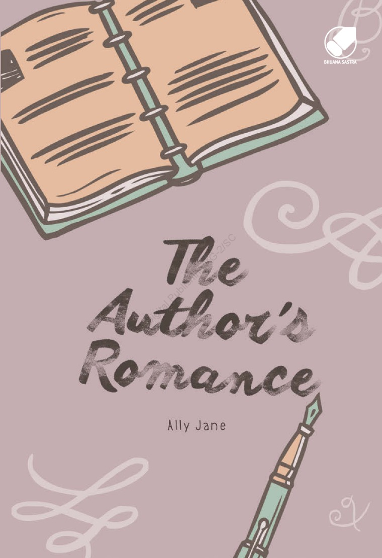 Buku Digital The Author's Romance oleh Ally Jane