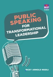 Cover Public Speaking for Transformational Leadership oleh Ricky Arnold Nggili