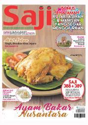 Cover Majalah Saji ED 389 Juli 2017