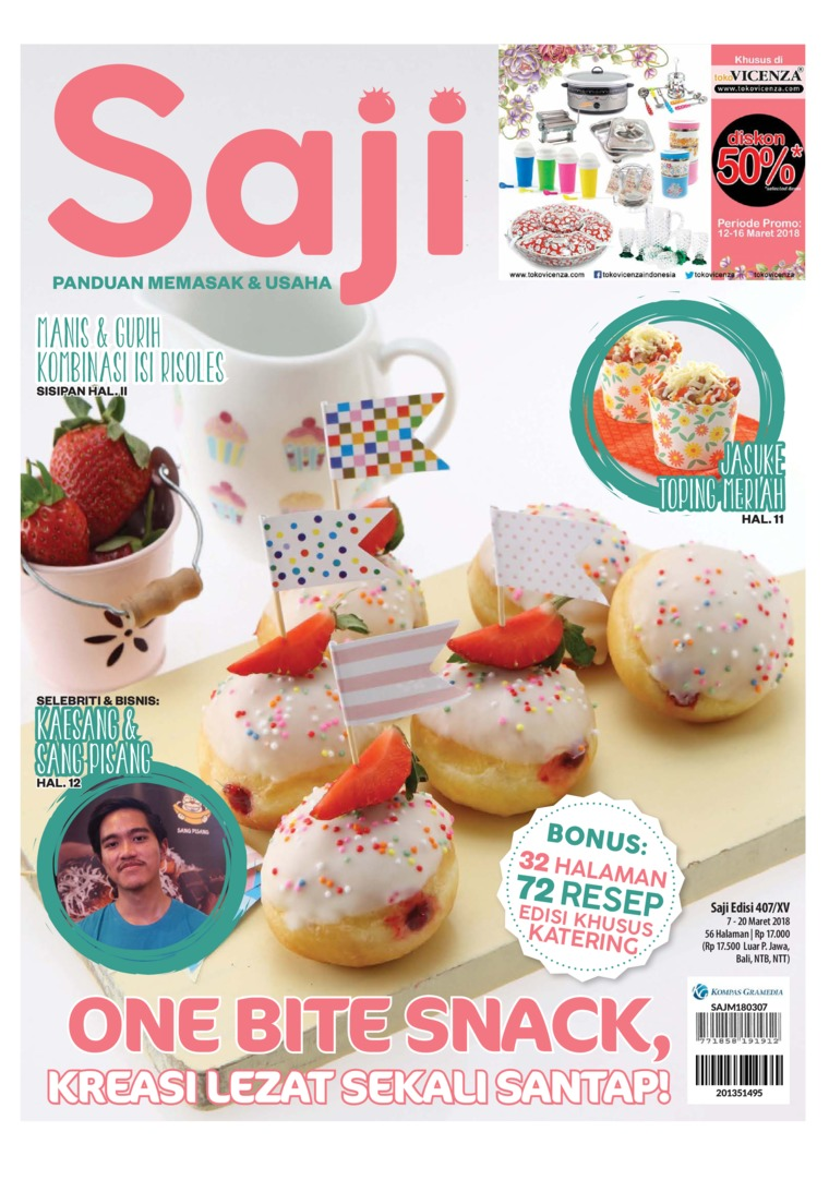 Saji Digital Magazine ED 407 March 2018