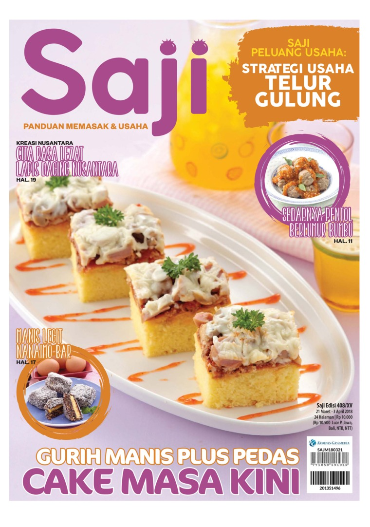 Saji Digital Magazine ED 408 March 2018