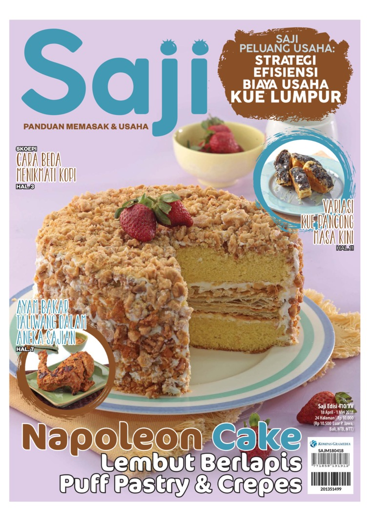 Majalah Digital Saji ED 410 April 2018