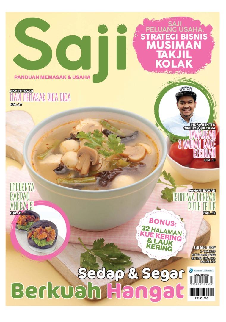Majalah Digital Saji ED 411 Mei 2018