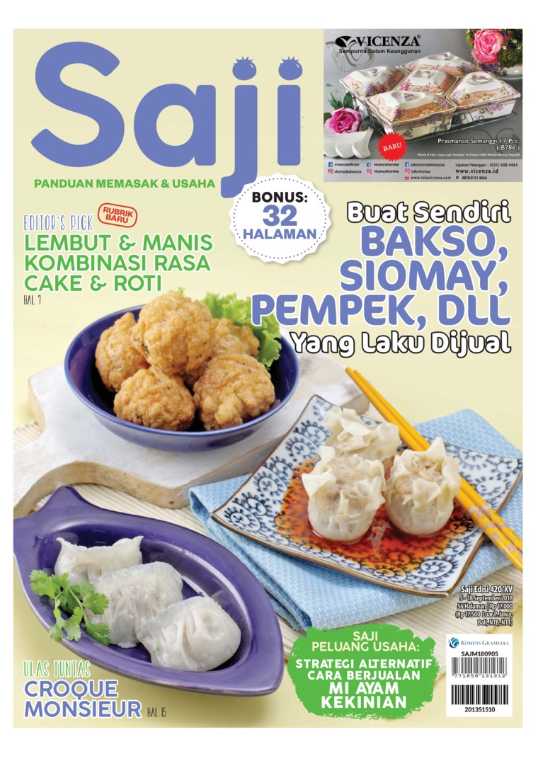 Saji Digital Magazine ED 420 September 2018