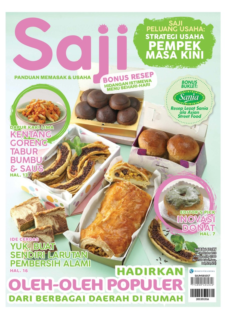Saji Digital Magazine ED 423 October 2018
