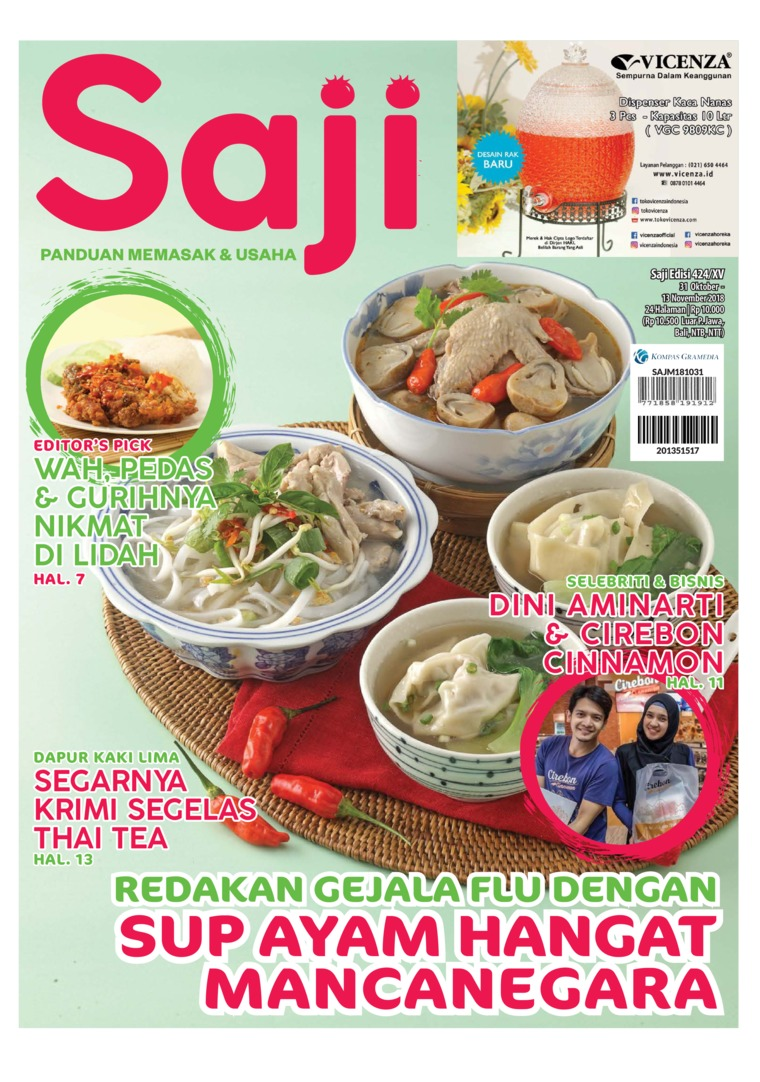 Saji Digital Magazine ED 424 October 2018