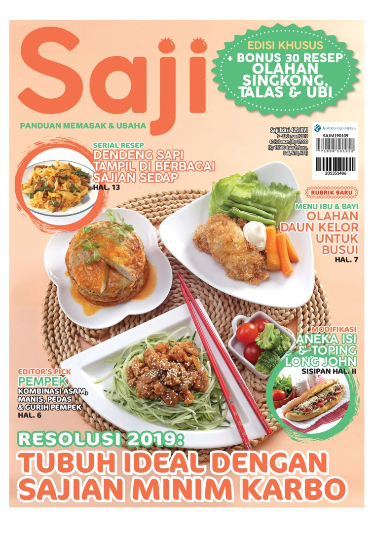 Saji Digital Magazine ED 429 January 2019