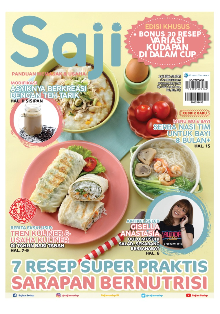 Saji Digital Magazine ED 431 February 2019