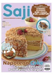 Cover Majalah Saji ED 410 April 2018