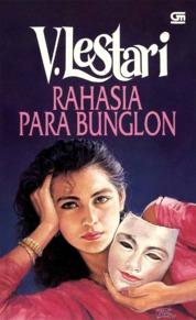 Rahasia Para Bunglon by V Lestari Cover