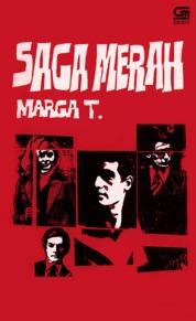 Saga Merah by Marga T Cover
