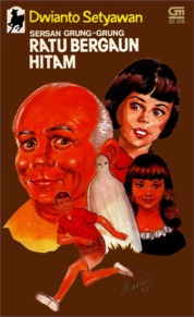 Cover Sersan Grung-Grung: Ratu Bergaun Hitam oleh Dwianto Setyawan
