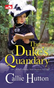 HR: The Duke`s Quandary by Callie Huitton Cover
