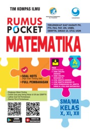 Cover Rumus Pocket Matematika SMA Kelas X, XI, XII oleh Tim Kompas Ilmu