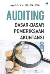 Cover Auditing : Dasar - Dasar Pemeriksaan Akutansi oleh Hery, S.E., M.Si., CRP., RSA., CFRM.