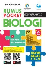 Cover Rumus Pocket Biologi SMA Kelas X, XI, XII oleh Tim Kompas Ilmu