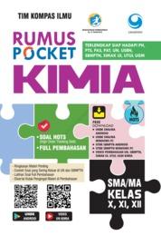 Cover Rumus Pocket Kimia SMA Kelas X, XI, XII oleh Tim Kompas Ilmu