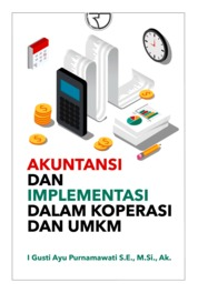 Cover Akuntansi dan Implementasinya dalam Koperasi dan UMKM oleh I Gusti Ayu Purnamawati, S.E., M.Si., Ak.