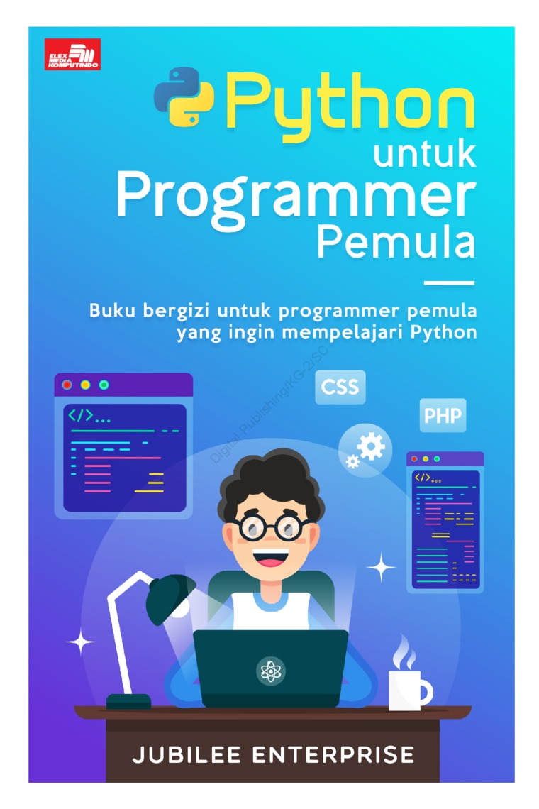 Buku Digital Python untuk Programmer Pemula oleh Jubilee Enterprise