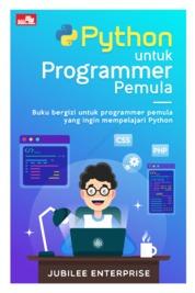 Cover Python untuk Programmer Pemula oleh Jubilee Enterprise