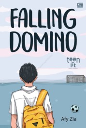 TeenLit: Falling Domino by Afy Zia Cover
