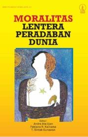 Cover Moralitas: Lentera Peradaban Dunia oleh Andre Ata Ujan