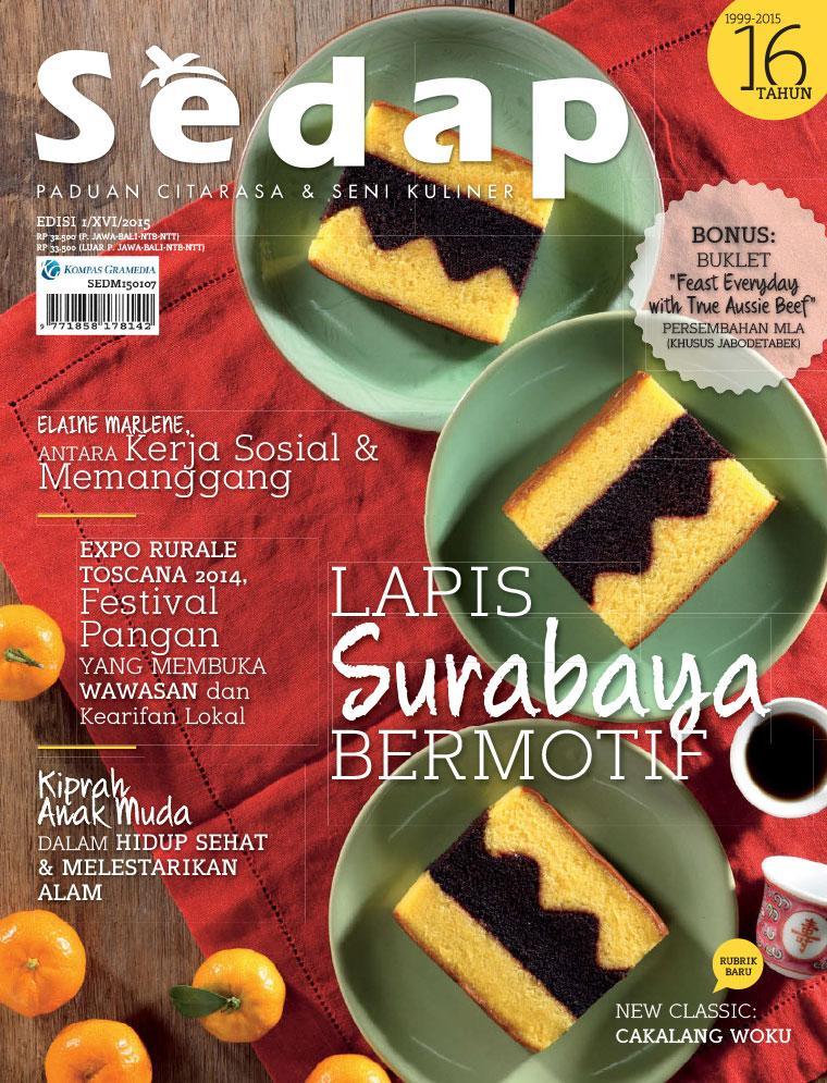 Sedap Digital Magazine ED 01 2015