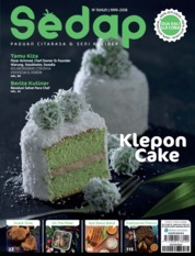 Sedap Magazine Cover