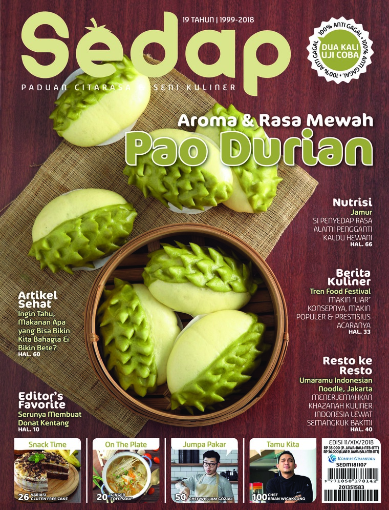 Majalah Digital Sedap ED 11 November 2018