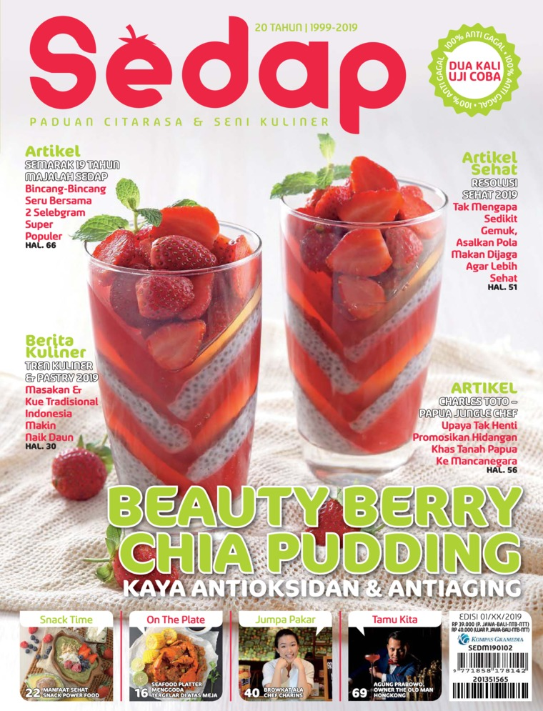 Sedap Digital Magazine ED 01 January 2019