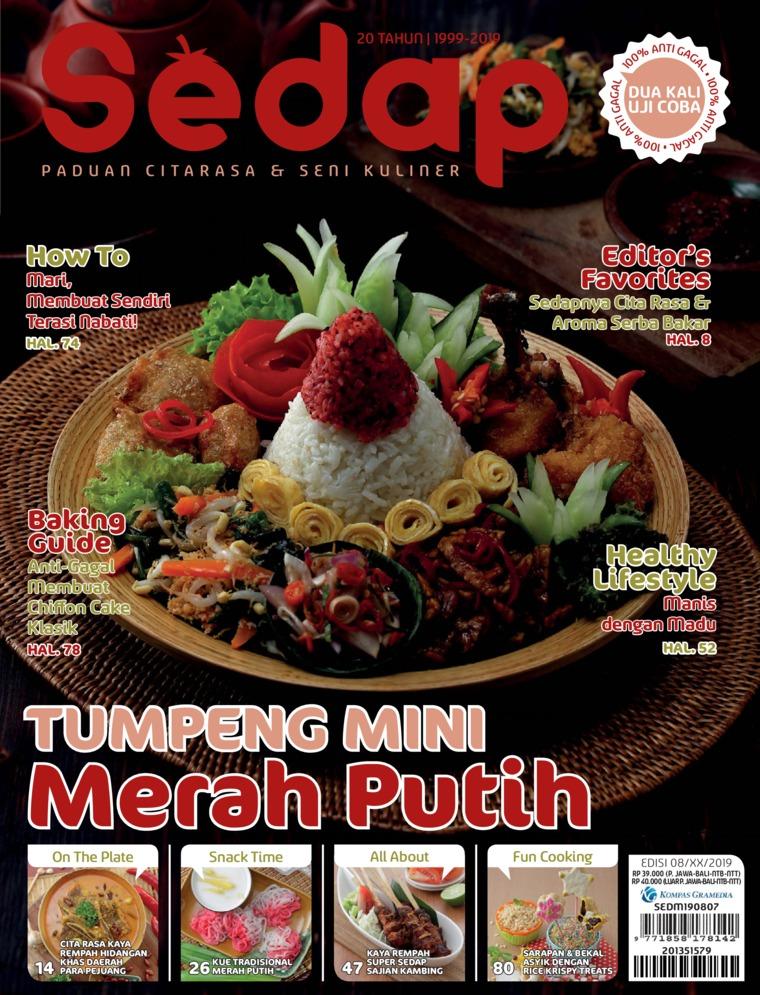 Sedap Digital Magazine ED 08 August 2019