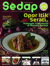 Sedap Magazine Cover ED 06 2018