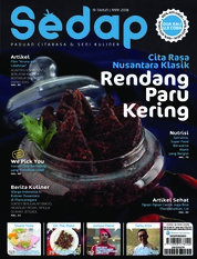Sedap Magazine Cover ED 08 August 2018