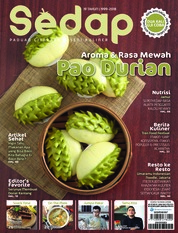 Sedap Magazine Cover ED 11 November 2018