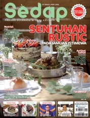Sedap Magazine Cover ED 12 December 2018
