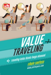 Cover Value Traveling oleh Edwin Santoso, S.E., CFP